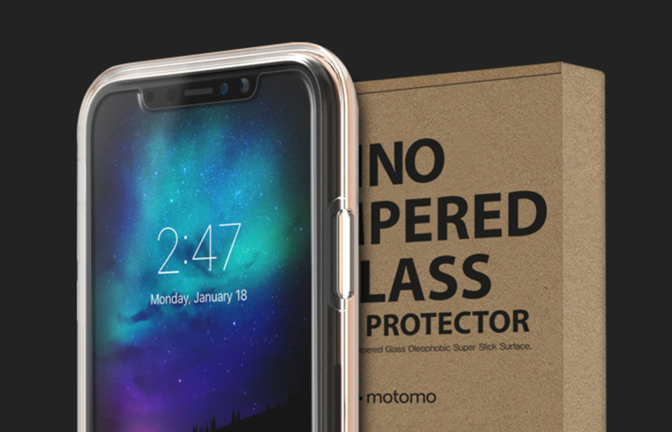 INO TEMPERED GLASS For iPhoneX