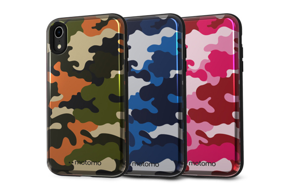 CAMO STANDING iPhone XR Case