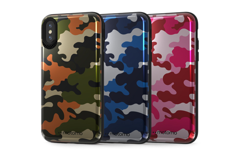 CAMO STANDING iPhone X/XS Case