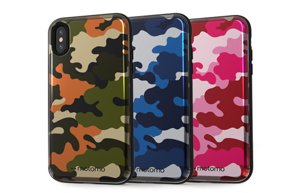 CAMO STANDING iPhone XS Max Case